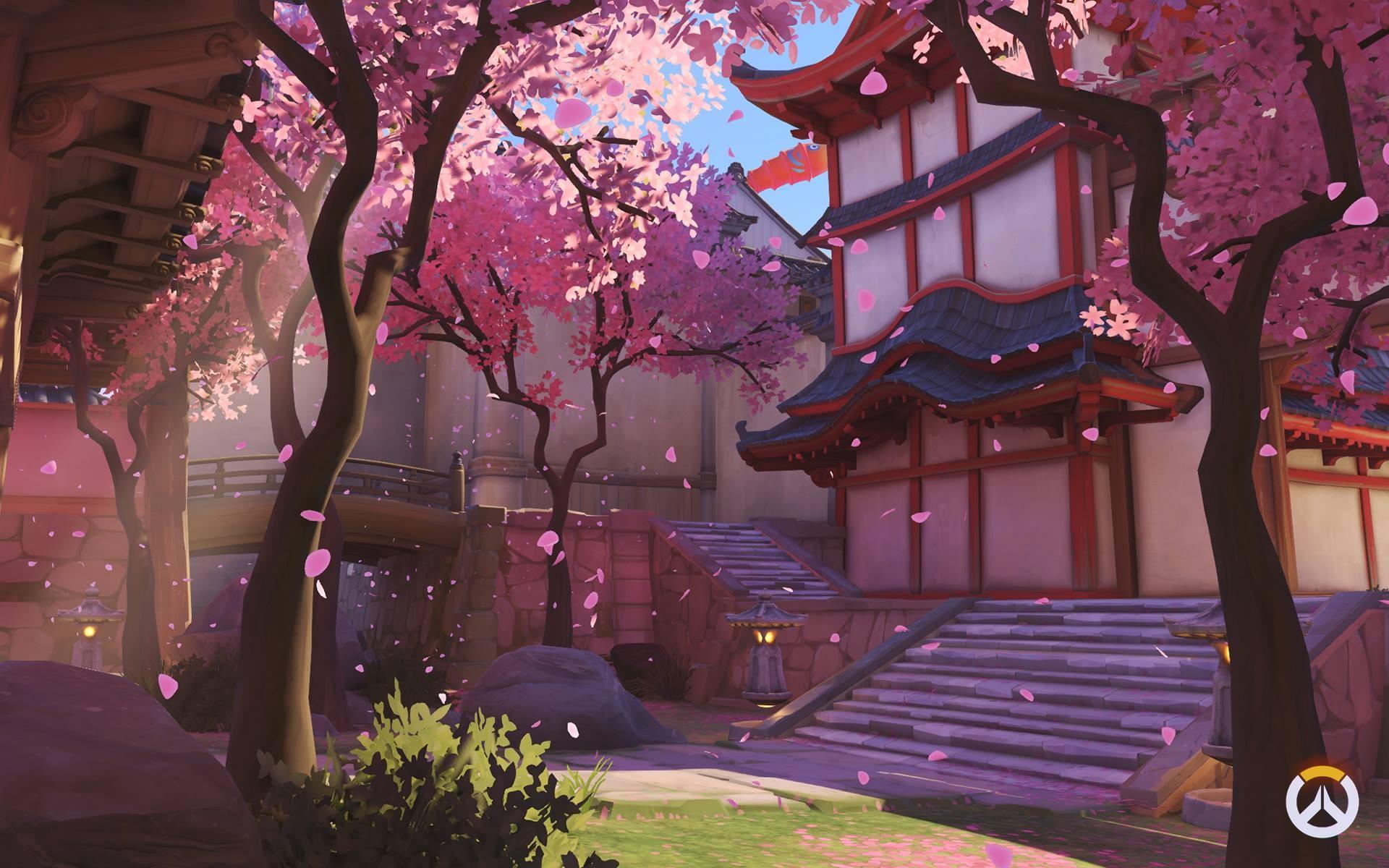 唯美的场景 《守望先锋》高清画质花村地图壁纸